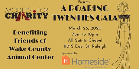Models For Charity's Ten Year Anniversary Roaring Twenties Gala tickets