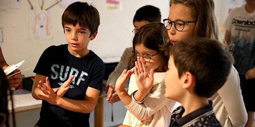 Cours d'essai gratuit 9 - 12 ans : Cours d'Anglais Créatifs de Samedi Matin