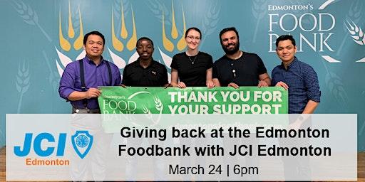 Giving Back at the Edmonton Foodbank with JCI Edmonton