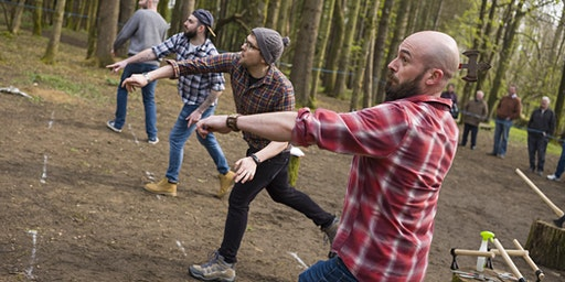Axe throwing event (18 April 2020, 10.30 - 12.00pm, Bridgend)