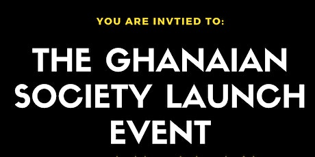 UoP Ghanaian Society Launch Event tickets