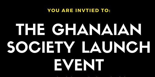 UoP Ghanaian Society Launch Event