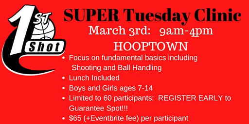 2020 Election DAY Basketball Camp