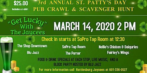 3rd Annual St. Patrick's Day Pub Crawl & Scavenger Hunt