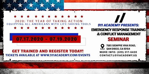 911 Academy Presents: Emergency Response Training and Conflict Management