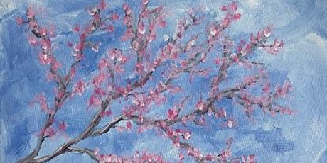 'Cherry Blossom' - Fun Paint and Sip Event tickets