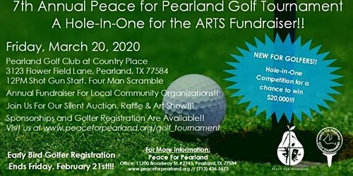 Peace for Pearland 7th Annual Golf Tournament  - Country Place Golf Club