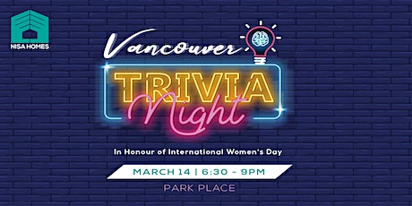Vancouver Trivia Night tickets