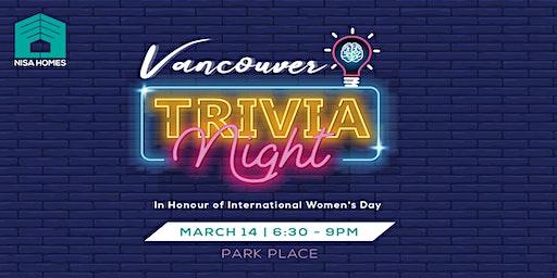 Vancouver Trivia Night