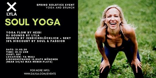 LYLA Soul Yoga and Brunch Spring Solstice Event