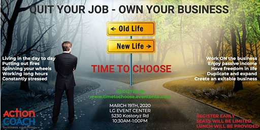 Quit your JOB and Own your BUSINESS
