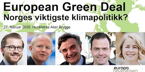 European Green Deal – Norges viktigste klimapolitikk?