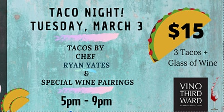 Taco Tuesday Night tickets