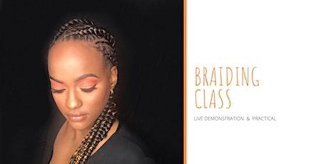 Braiding Master Class tickets