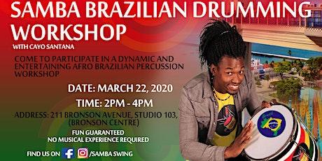 Samba Brazilian Drumming Workshop tickets