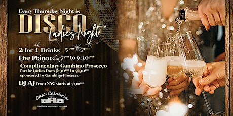 Disco Ladies Night Thursdays with Gambino Prosecco tickets