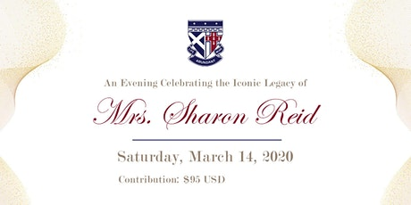An Evening Celebrating The Iconic Legacy Of Mrs. Sharon Reid tickets