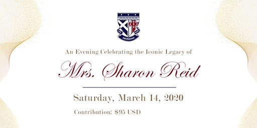 An Evening Celebrating The Iconic Legacy Of Mrs. Sharon Reid
