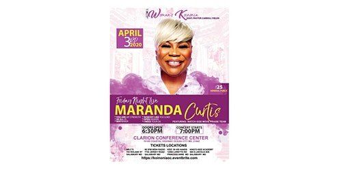 Koinonia Ministries presents-Friday Night Live with Maranda Curtis