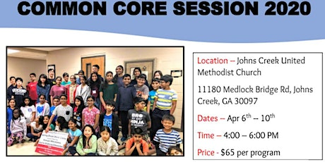 Atlanta Common Core Spring Camp 2020 tickets