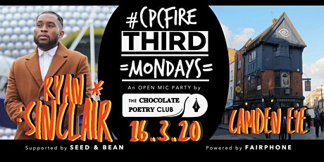 POETRY - #CPCFIRE CAMDEN Open Mic Fire // Every Third Monday billets
