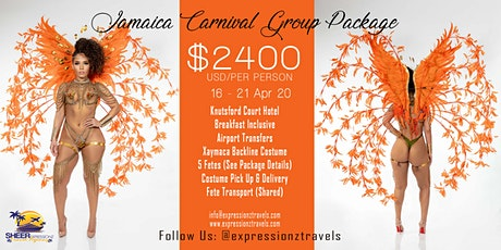 Jamaica Carnival 2020 Group Package tickets