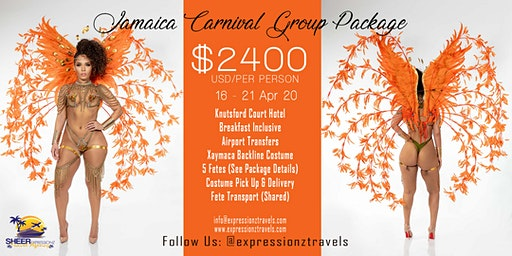 Jamaica Carnival 2020 Group Package