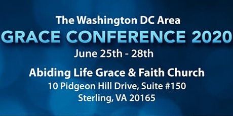 The Washington DC Area Grace Conference 2020 tickets