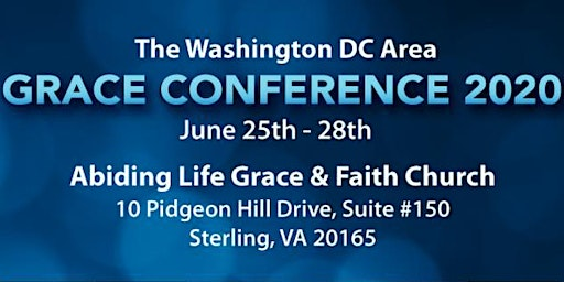 The Washington DC Area Grace Conference 2020