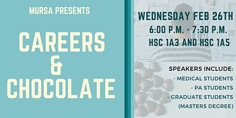 Careers & Chocolate tickets