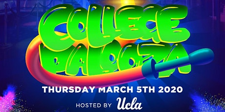 The biggest 18 and over spring break in Hollywood college palooza  tickets