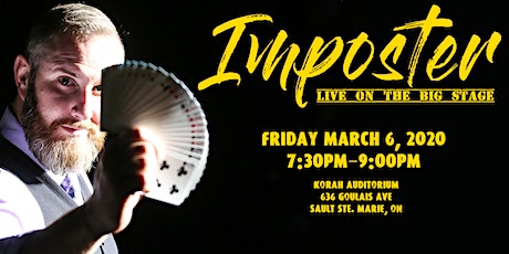 IMPOSTER, Live on the BIG STAGE tickets
