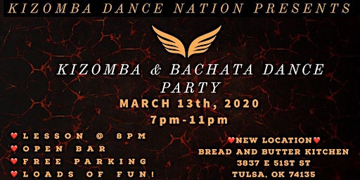 KIZOMBA AND BACHATA DANCE PARTY!!