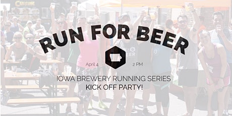 IA Brewery Running Series - Kick Off Party RSVP 2020 tickets