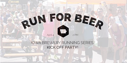 IA Brewery Running Series - Kick Off Party RSVP 2020