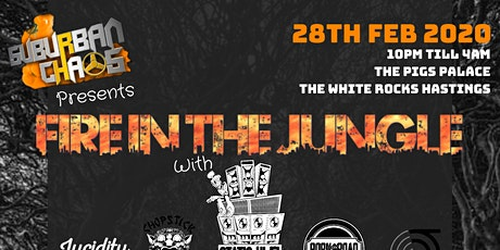 FIRE IN THE JUNGLE tickets