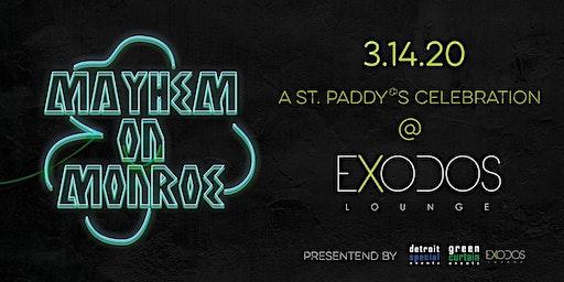 St. Paddy's Mayhem on Monroe at Exodos Rooftop