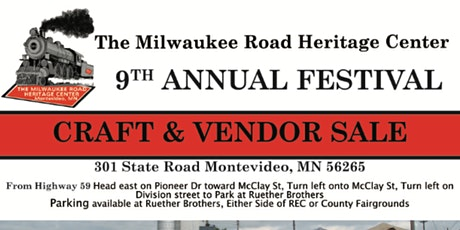 Milwaukee Road Heritage Center (Montevideo, MN) Craft/Vendor Festival tickets