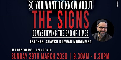 So You Want To Know About The Signs? tickets