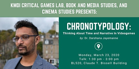 Chronotypology: Thinking About Time and Narrative In Videogames tickets