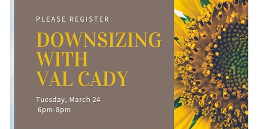 Downsizing with Val Cady