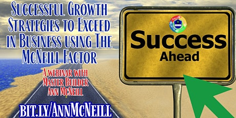 Successful Growth Strategies to Exceed in Business tickets