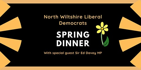 North Wiltshire Liberal Democrats Spring Dinner tickets