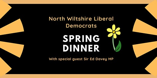 North Wiltshire Liberal Democrats Spring Dinner