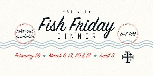 Nativity Fish Friday Dinner