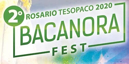 Registro Bacanora Fest Tesopaco 2020