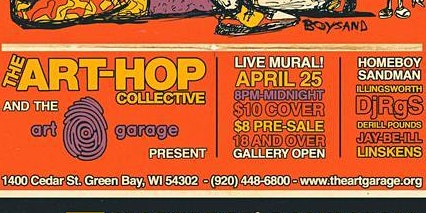 The Art-Hop Collective:  Featuring Homeboy Sandman & Illingsworth