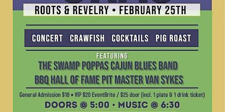 Mardi Gras Concert, Crawfish Boil & Pig Roast tickets