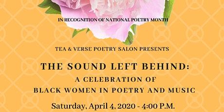 The Sound Left Behind: A Celebration of Black Women in Poetry and Music tickets