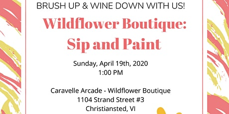 Wildflower Boutique Sip and Paint tickets
